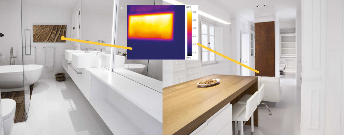 Riscaldare la casa con i pannelli radianti a infrarossi for Pannelli radianti infrarossi portatili