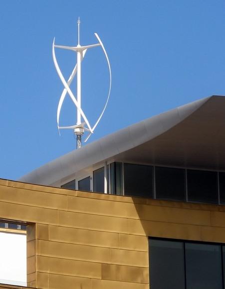 mini eolico ad asse verticale