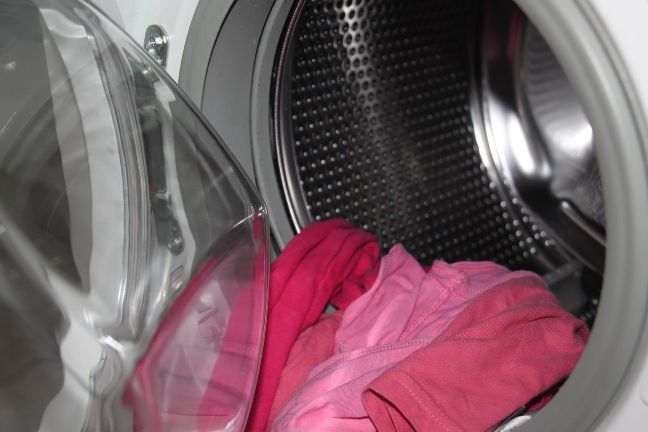 una lavatrice