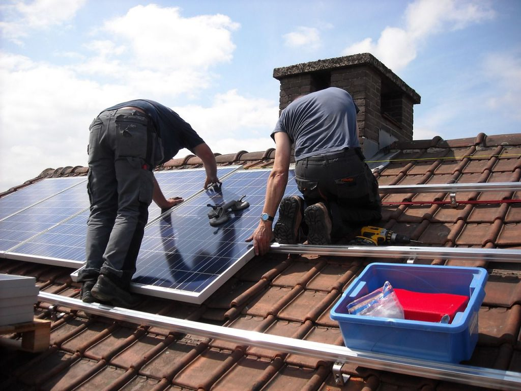 installazione di un solare termico